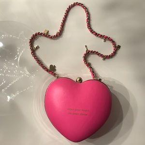 Kate Spade Shoulder Bag - Heart Mini